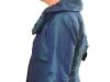 zijde jas met mooie kraag