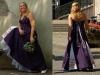 Purple Hochzeitskleid, bestehend aus Rock mit Petticoat und halter